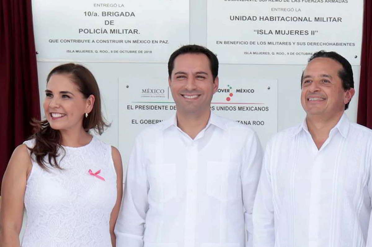 """El Gobernador Mauricio Vila participa en la inauguración de """"Ciudad Militar"""" en Cancún, Q.R."""
