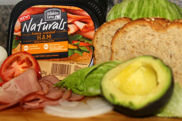 Sandwich_con_ jamon_Hillshire_Farm_Naturals_1