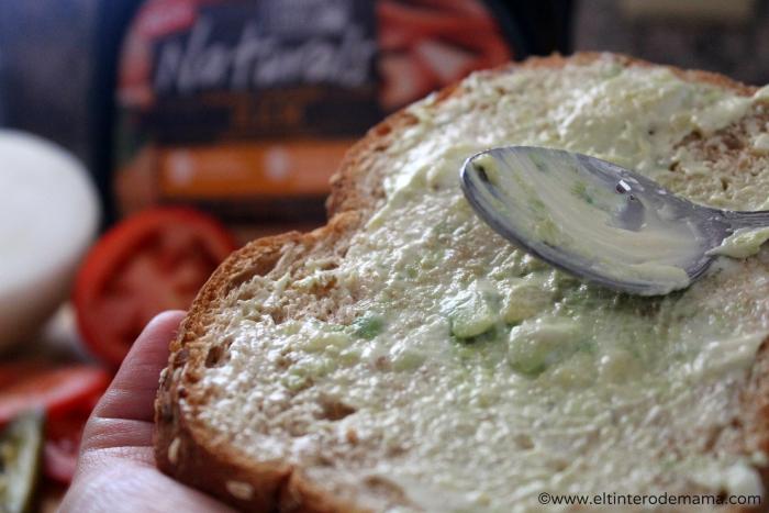 Sandwich_con_ jamon_Hillshire_Farm_Naturals_2