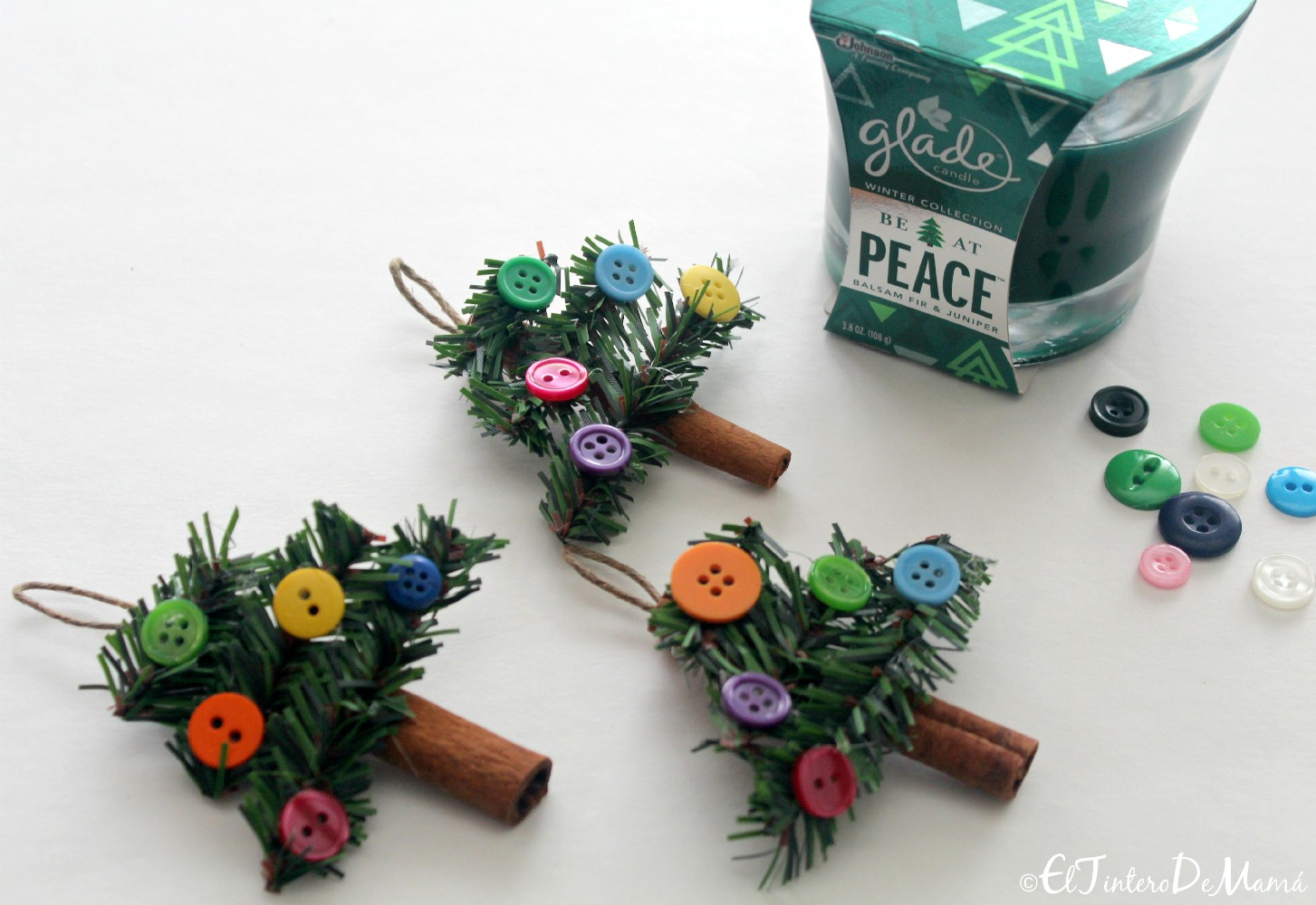 Glade_Winter_Collection_DIY_Pinos_Navideños_Colgantes
