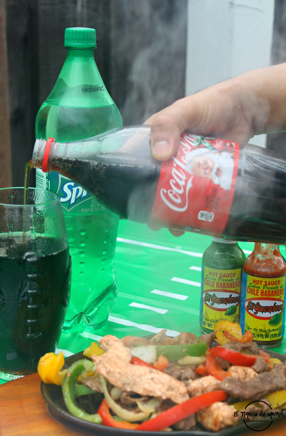 Score_On_Flavor_El_Yucateco_salsa_Fajitas_Mixtas_Coca_Cola