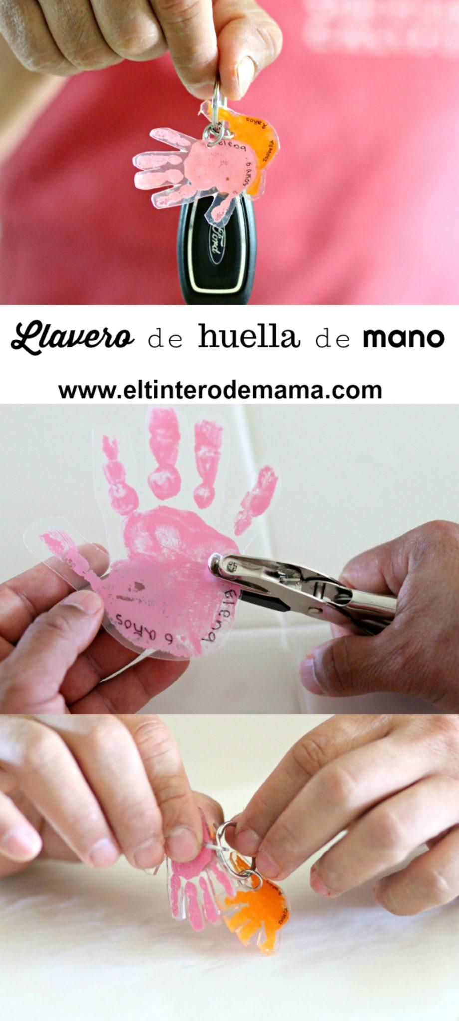 Handprint-keychain-diy