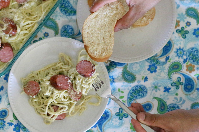 Espagueti-poblano-recipe