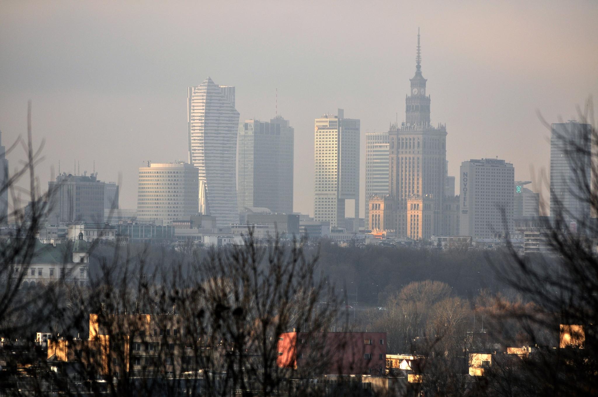 Obraz znaleziony dla: smog photos warsaw