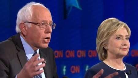 Hillary Clinton y Sanders