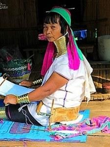 Tribu Long Necks - Tailandia