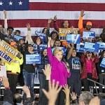 Caucus en Nevada - Hillary Clinton