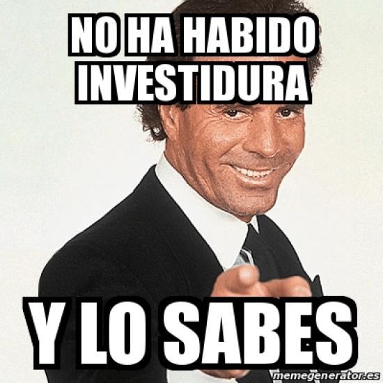 memes - debate de investidura