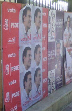 PSOE- Podemos - Camapaña austera