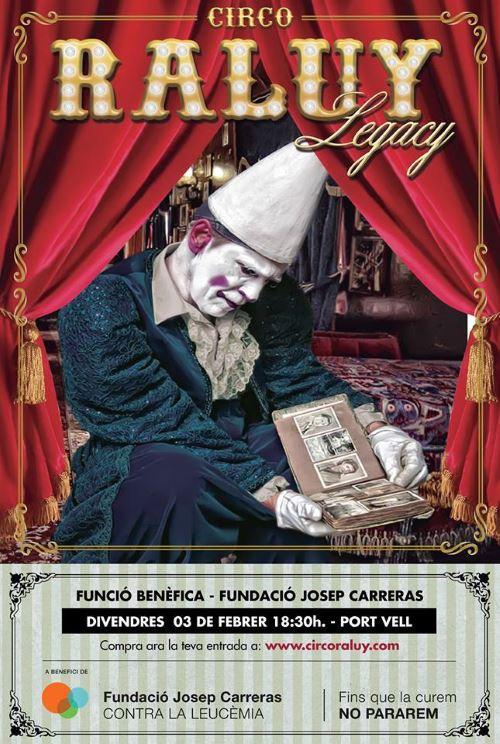 El Circo Raluy hace una función benéfica para la Fundación Josep Carreras