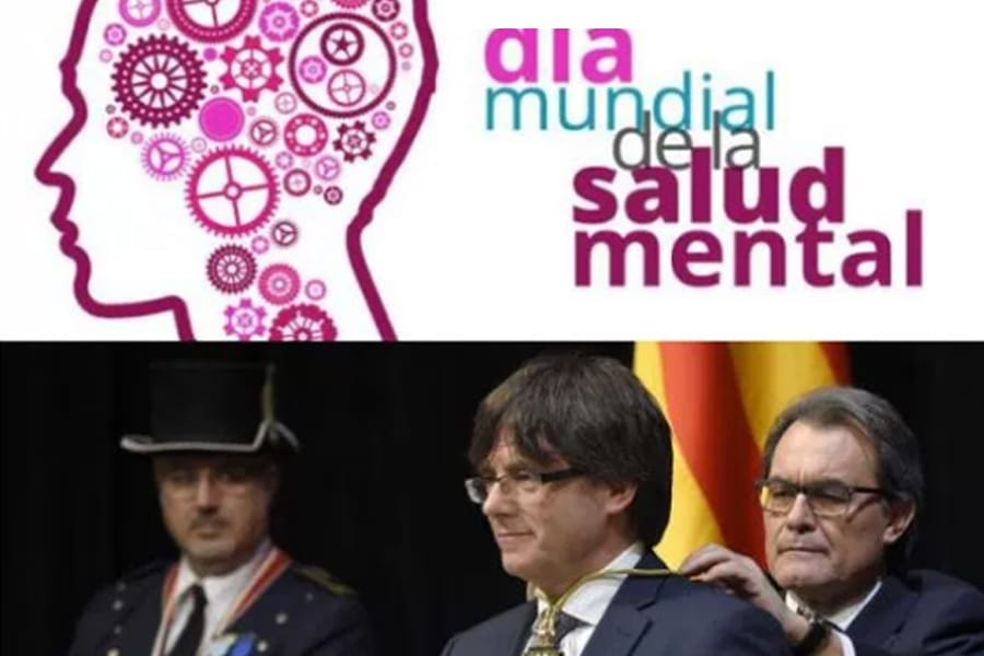 salud mental Carles Puigdemont