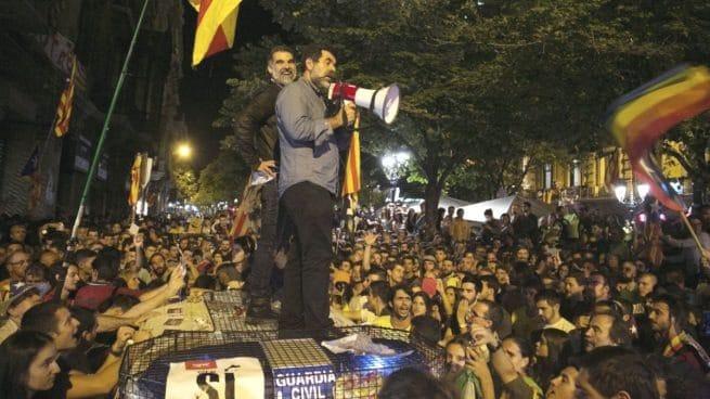 Jordi Sanchez y Jordi Cuixart