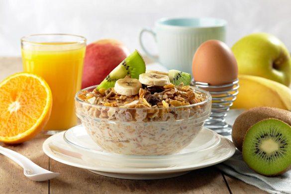 Desayuno para bajar de peso