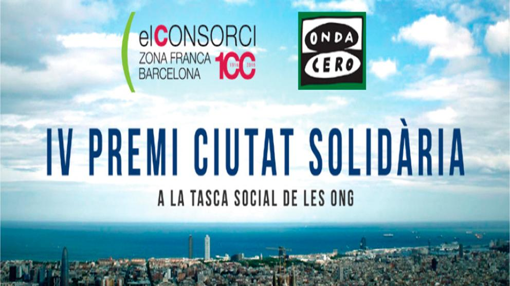 Onda Cero y el CZFB entregan el Premi Ciutat Solidària