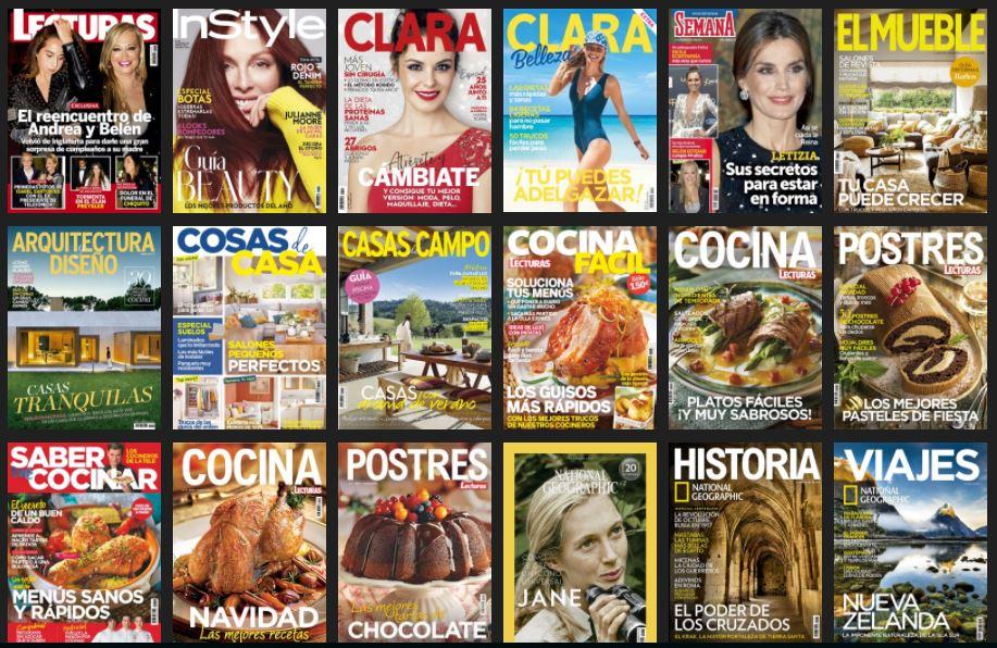 Revistas RBA.Anviersario