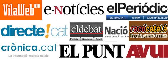 subvenciones a la prensa independentista