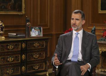discurso de Navidad del Rey de España Felipe VI