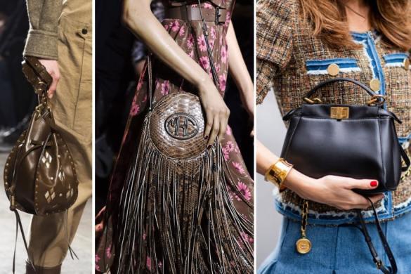 Tendencias en bolsos para la próxima temporada otoño-invierno 2019-2020-vintage
