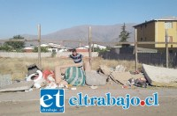 Este otro basural, se encuentra ubicado en la costanera poniente entre Población Los Araucanos y Departamentos El Totoral.
