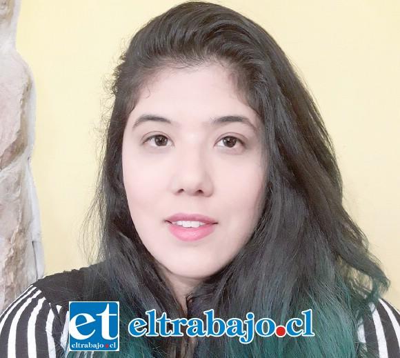 Macarena Mundaca, una de las organizadoras de la actividad.