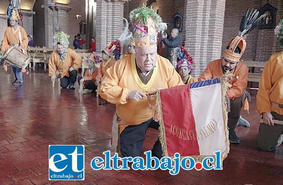 LOS ANFITRIONES.- Este domingo 16 de junio se estará celebrando la fiesta en honor a Nuestra Señora de la Madre Tierra 2019, la que también se instala como la Fiesta Patronal del Baile Chino Aconcagua Salmón.