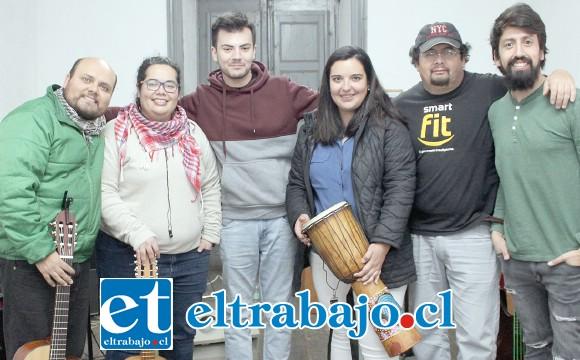 TALENTO LOCAL.- Ellos son Atempo Band, de San Felipe, estarán haciendo de las suyas la próxima semana en la terraza.