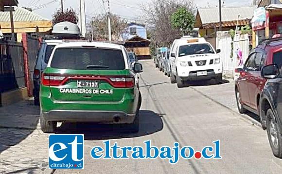 El hecho quedó al descubierto la tarde de este viernes 13 de septiembre al interior de una vivienda ubicada en Villa El Castaño de San Felipe.
