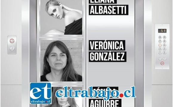 Eliana Albasetti, Verónica González y Mónica Aguirre conforman el elenco de esta destacada obra a nivel internacional.