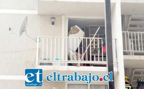 La explosión se originó en un departamento del tercer piso en el condominio Santo Domingo el pasado 25 de octubre de este año.
