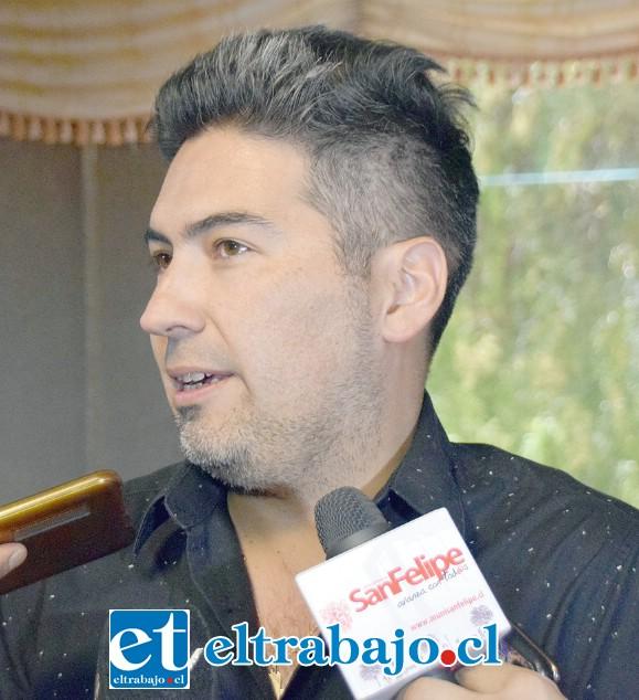 Presidente del Sindicato, Albert Lobos Poza.