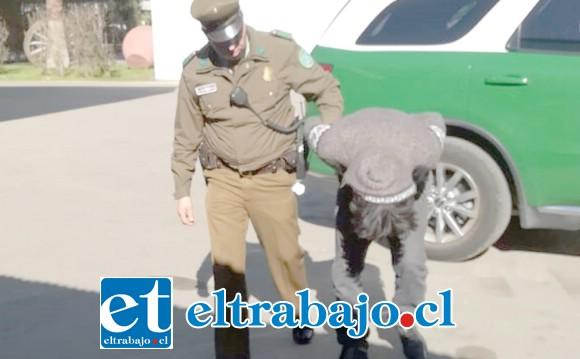 El delincuente apodado 'El Doce Pollos' fue uno de los condenados a la pena de 6 años de cárcel.