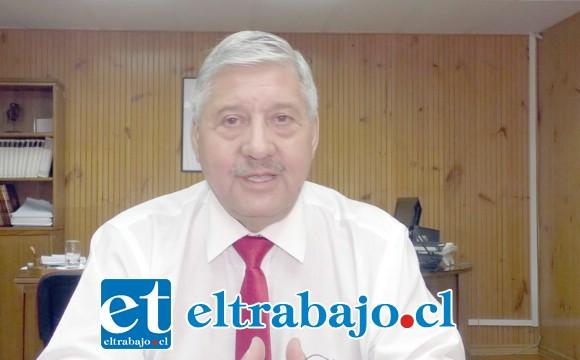 Iván Silva Padilla, Jefe DAEM San Felipe.