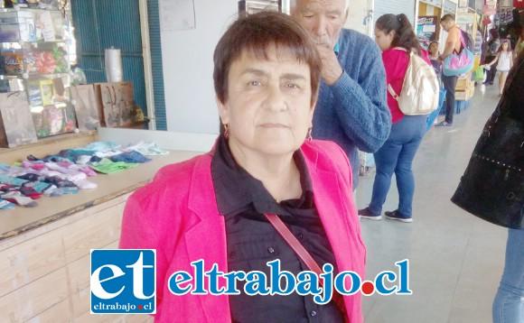 Julia Urquieta Olivares, abogada de los ex trabajadores de parquímetros de la empresa José Hidalgo.