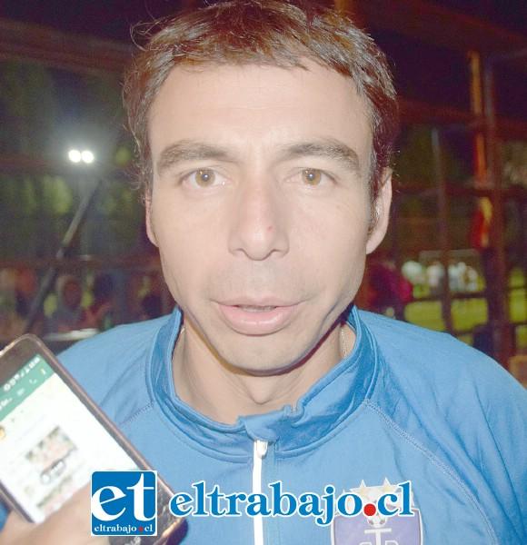 Mauro Mondaca, presidente del Club Deportivo Juventud La Troya.