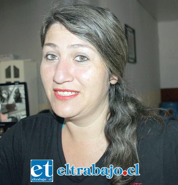 Johanna Romero, comerciante muy conocida en San Felipe.