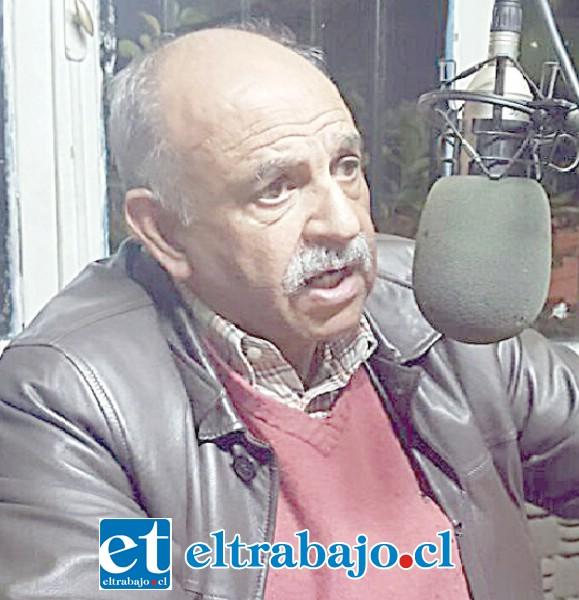 Jaime Amar Amar, exalcalde y Químico Farmacéutico.