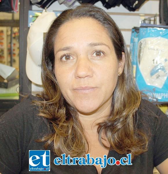 Jeannette Ahumada, comerciante sanfelipeña.