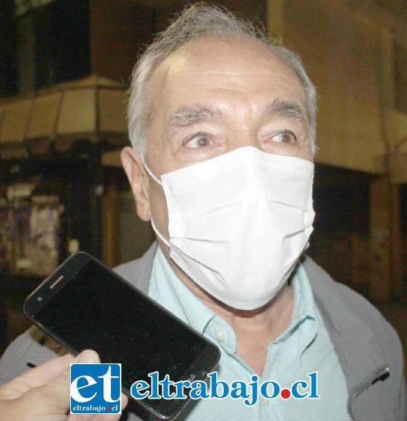 Patricio Freire Canto, alcalde sanfelipeño al frente de la operación.