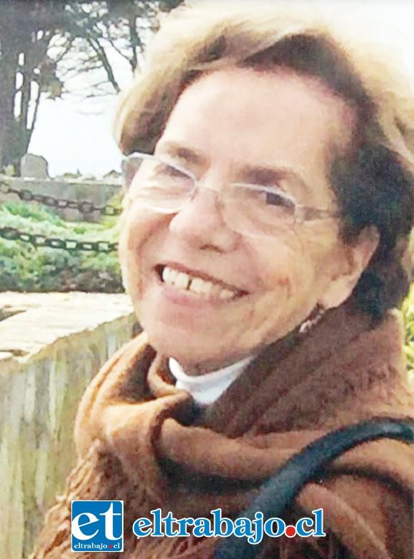 Leticia Freire Canto fue sepultada ayer en horas de la tarde en el Cementerio Municipal de San Felipe.