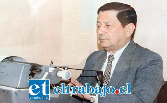 ADIÓS MAESTRO.- Herman Pérez Bórquez fue sepultado ayer domingo en horas de la tarde en el Cementerio Municipal de nuestra comuna, en El Almendral.