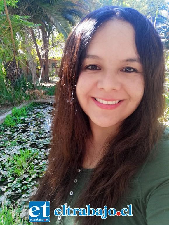 Conservadora y restauradora experta en madera policromada, Melissa Morales.