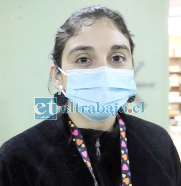 Dra. Rina Carvallo, Fisiatra Jefa del Servicio de Medicina Física de rehabilitación del Hospital San Camilo.