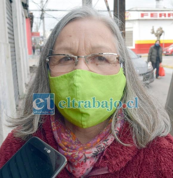 Hilda Chávez, dueña de Comercial Valentina.