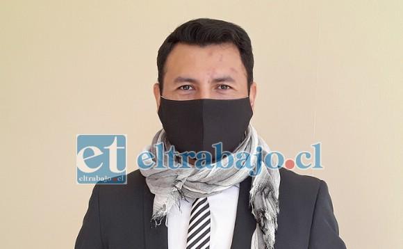 Marco Cortez Llopis, abogado de la OPD de Santa María.