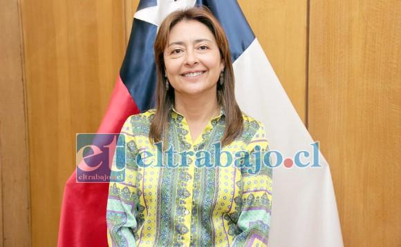 María Violeta Silva, Seremi del Trabajo y Previsión Social.