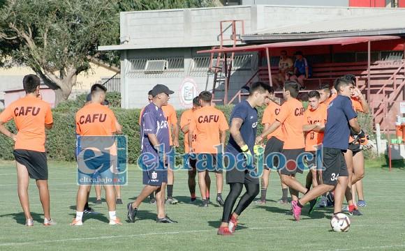 Cada vez más cerca del retorno.- Al igual que varios otros clubes chilenos, el Uní Uní podrá volver en el corto tiempo a los entrenamientos.