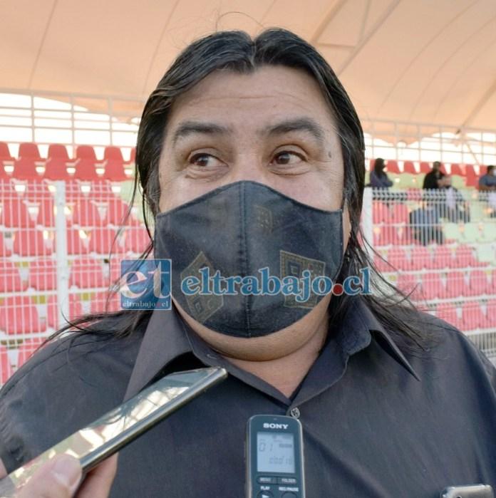 Juan Torrejón, conocido dirigente deportivo, papá de Joel.