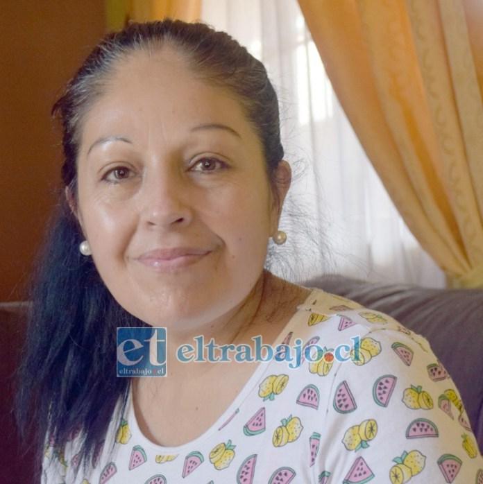 Carmen Gloria Ahumada Aguirre, hija de doña Nora Aguirre.