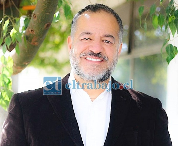 Candidato a concejal por San Felipe, José Francisco González Collantes.