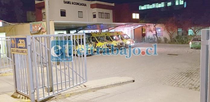 El problema se originó en la morque Covid del Hospital San Camilo. (Foto archivo)
